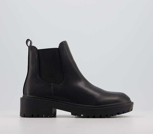 Odd sizes - Womens Raid Radar Chelsea Boot Black UK Sizes R4/L3