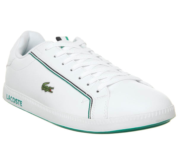 Mens Lacoste Graduate White Green