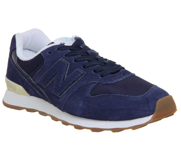 Womens New Balance 996 Pigment White