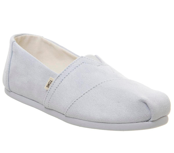 Womens Toms Seasonal Classic Slip On Baby Blue