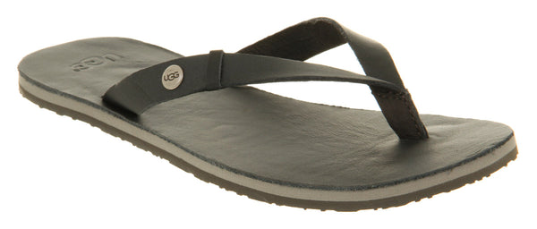 Womens Ugg Ally Flip Flop Pewter