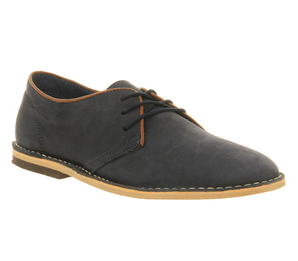 Mens Office Cracker Desert Shoe Navy Nubuck