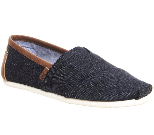 Mens Toms Toms Classic Dark Denim Uk Size 12