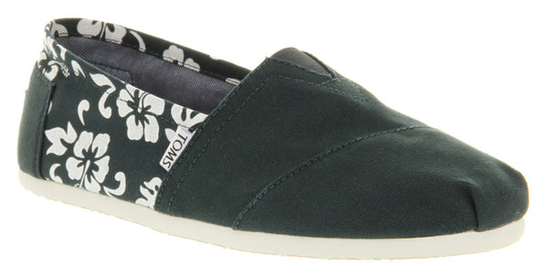 Mens Toms Classic Navy Maui Canvas