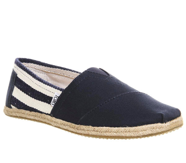 Mens Toms Toms University Classic Navy Uk Size 10