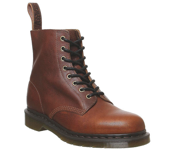 Mens Dr.Martens Dm 8 Eye Lace Boot Pascal Tan Harvest