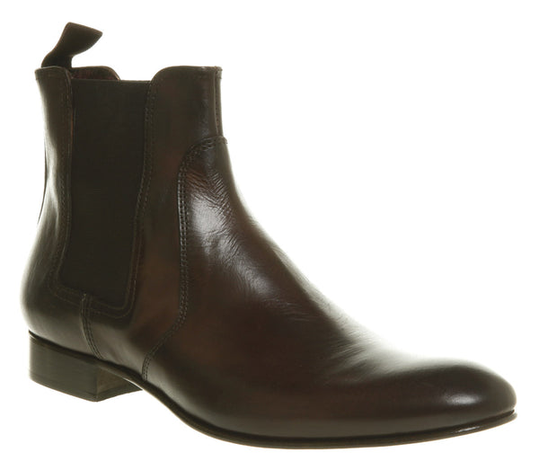 Mens Office Raffaele Boot Brown Leather