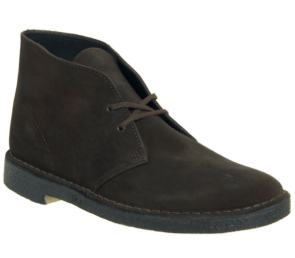 Mens Clarks Desert Boot Brown Suede