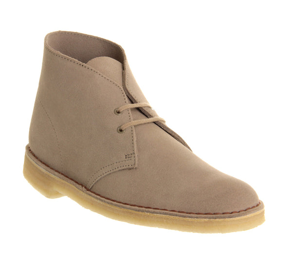 Mens Clarks Desert Boot Sand Suede Uk Size 10