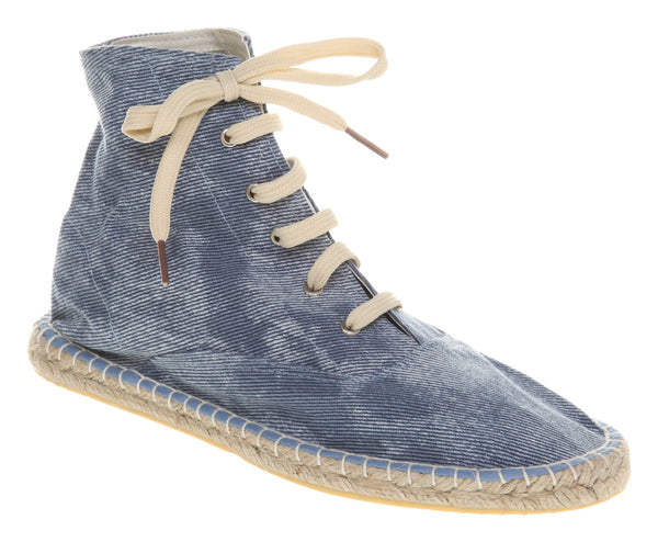 Womens Office Kitty Espadrille Denim