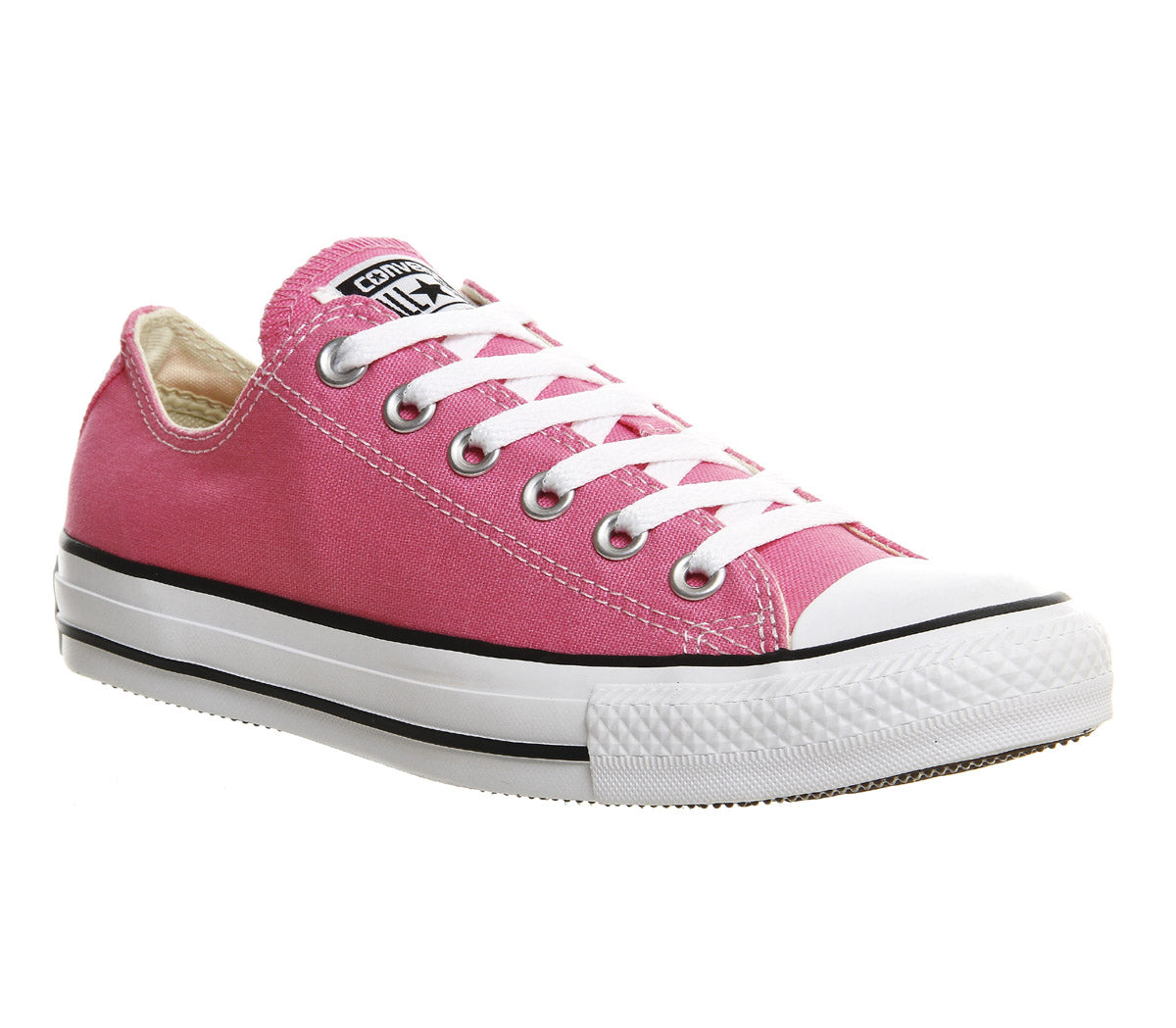3de754916a59 Womens Converse All Star Low Pink Canvas – OFFCUTS SHOES by OFFICE