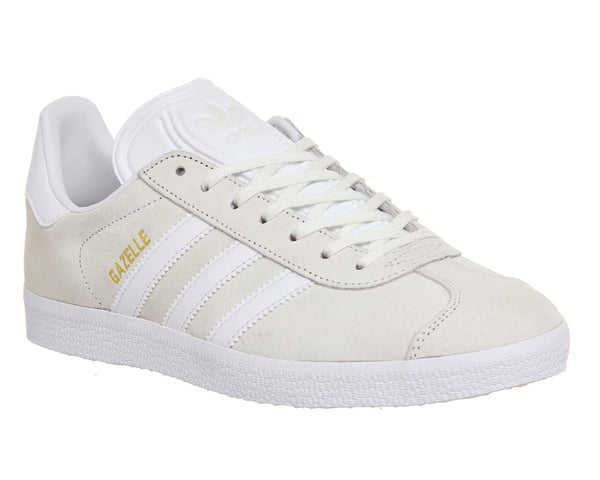 Unisex Adidas Gazelle Off White Trainers