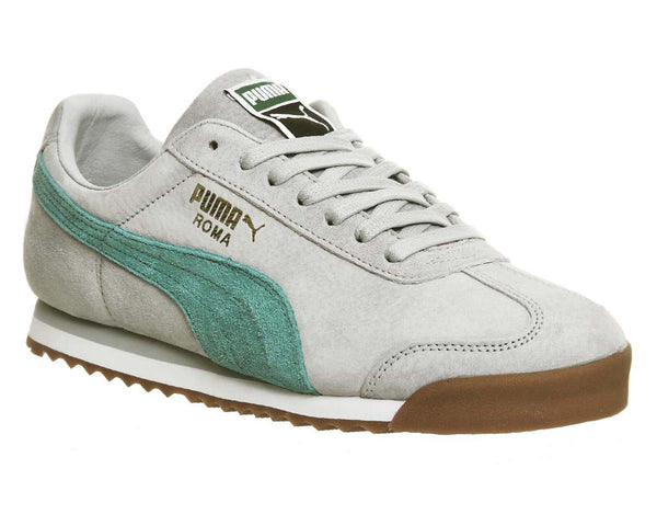 Puma Roma Grey Spectre Suede Trainers