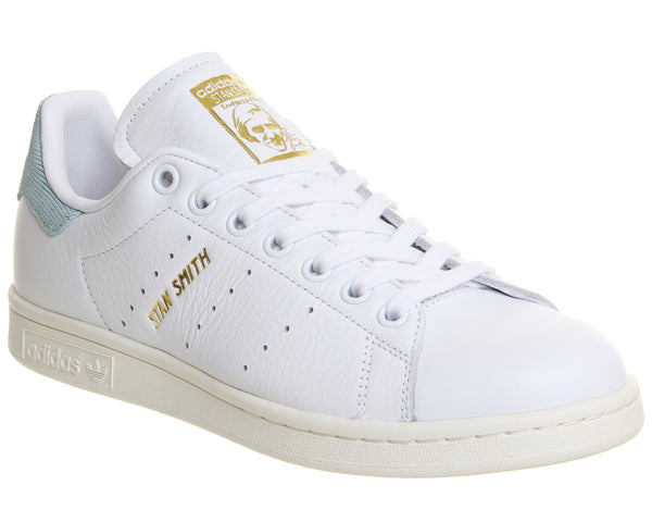 Unisex Adidas Stan Smith White Tactile Green Trainers