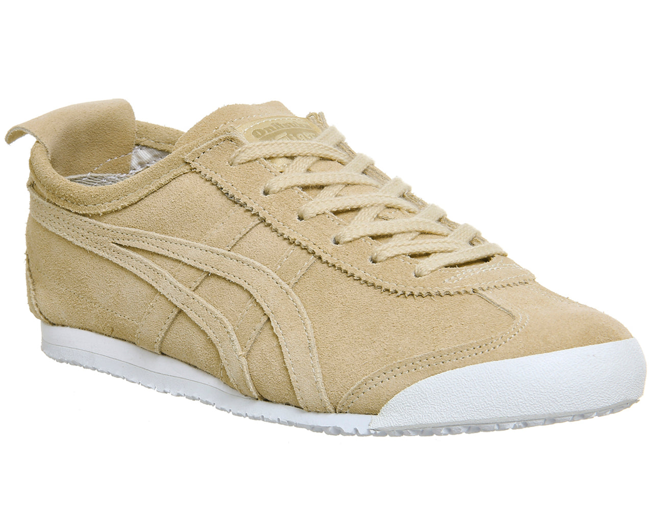 san francisco e780f 9b2c3 Womens Onitsuka Tiger Mexico 66 Trainers Marzipan