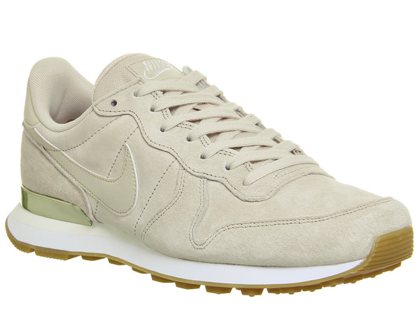 Womens Nike Internationalist Oatmeal White Trainers