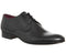 Mens Poste Giacomo Lace up Shoes Black Leather Formal