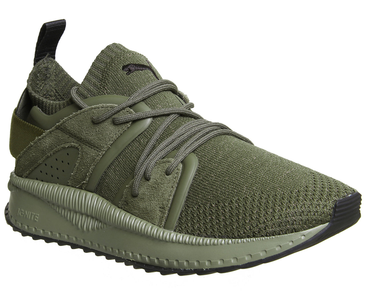 hot-selling authentic pick up hot new products Mens Puma Tsugi Blaze Trainers Olive Night Olive Evoknit