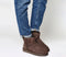 Womens Ugg Classic Mini II Chocolate Suede Boots