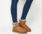 Womens Ugg Mini Bailey Button II Chestnut Suede Boots
