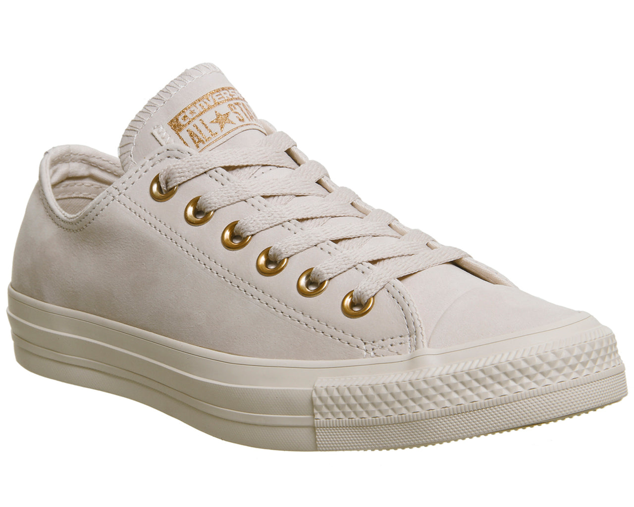47931e0ca2d364 Womens Converse All Star Low Leather Whisper Pink Rose Gold – OFFCUTS SHOES  by OFFICE
