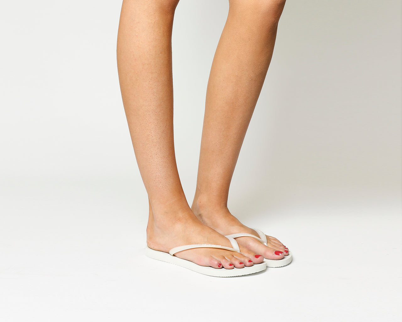 8fb85c9df9bd2a Womens Havaianas Slim Flip Flop White – OFFCUTS SHOES by OFFICE
