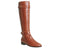 Womens Office Kentucky Casual Riding Boots Tan Leather