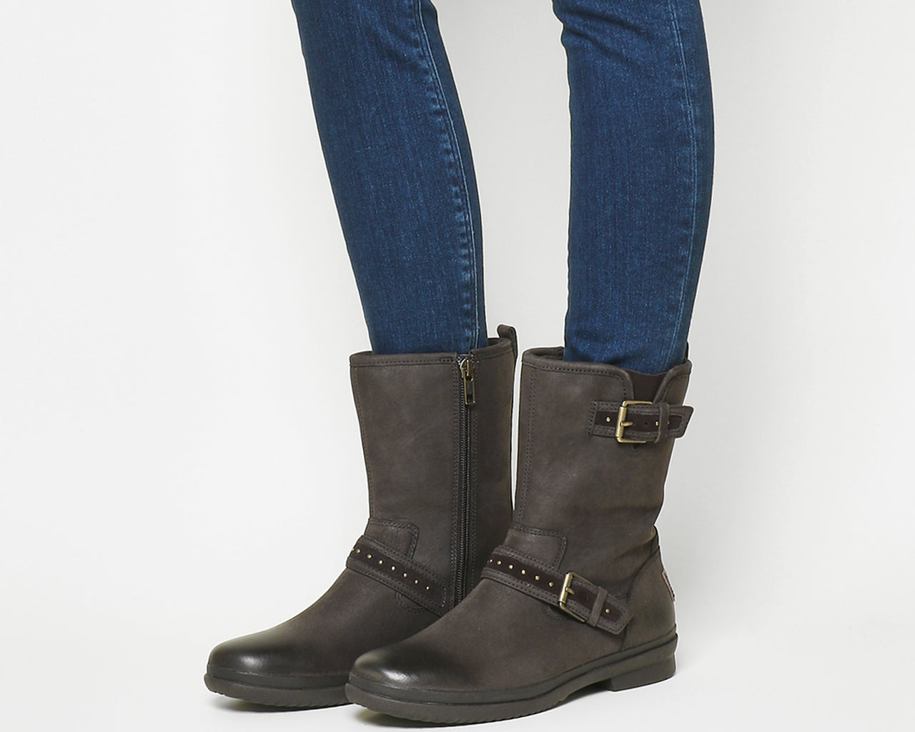 Womens Ugg Jenise Stout Leather