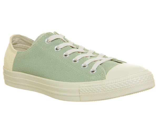 Mens Converse All Star Low Jute Surplus Sage Trainers