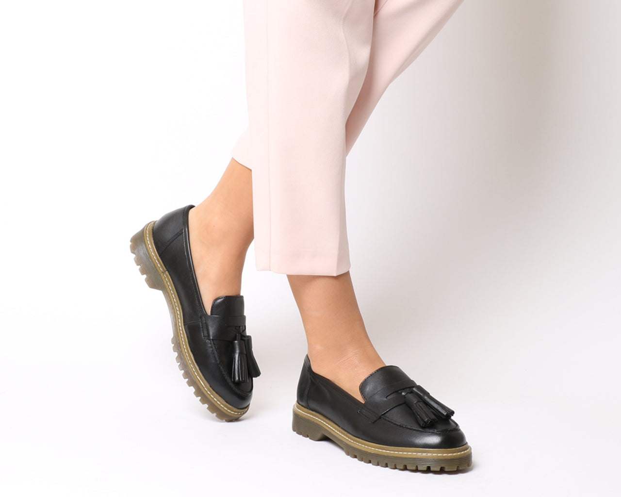 Womens Office Found Out Chunky Loafer