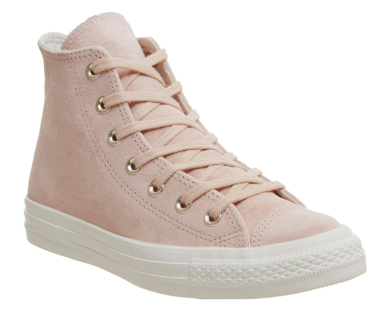 544c52b95fc07 Womens Converse All Star Hi Leather Trainers Particle Beige Driftwood – OFFCUTS  SHOES by OFFICE