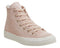 Womens Converse All Star Hi Leather Trainers Particle Beige Driftwood Egret