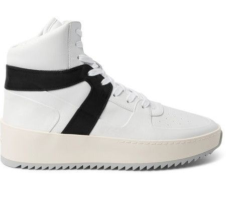 Mens Fear Of God Basketball Sneaker White Black Uk Size 9