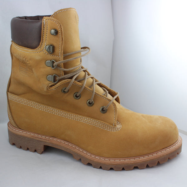 Mens Timberland Usa Made 8 Inch Boot Wheat Horween