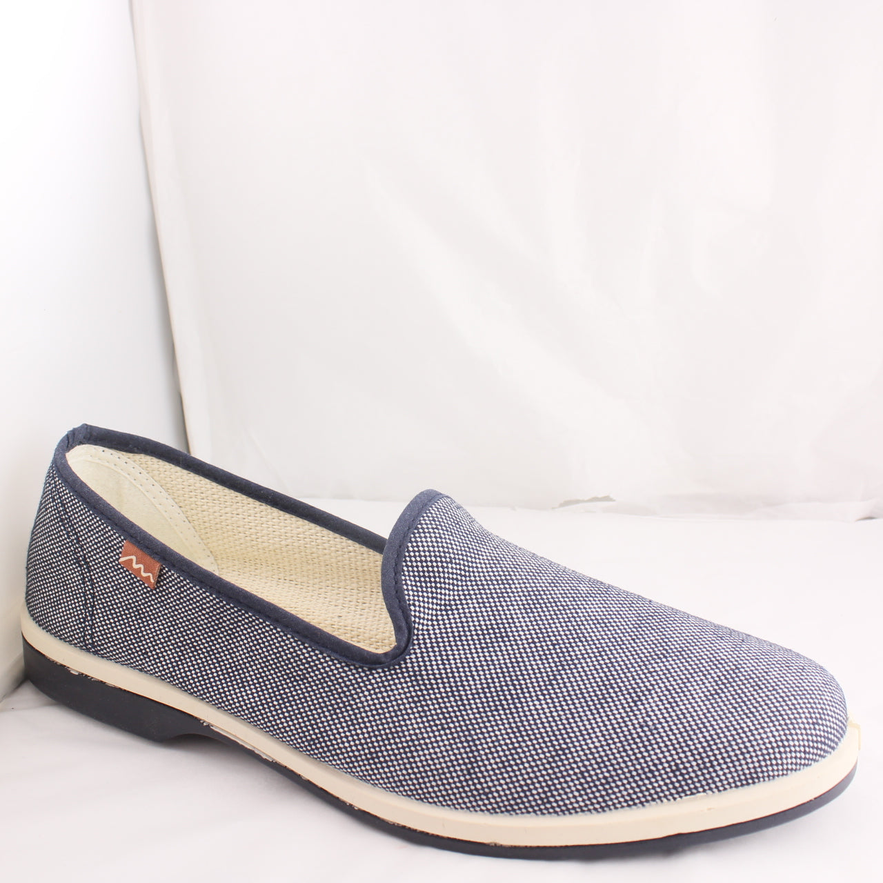 Mens Maians Slip On Blue Casual Shoes Size 7.5