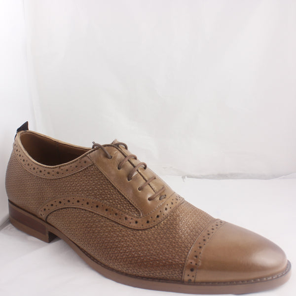 Mens Ask The Missus Rattan Tan Shoe UK Size 9