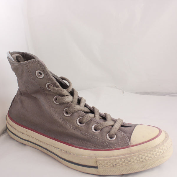 Womens Converse All Star Hi Grey Wine Worn Look Trainers UK Size 5