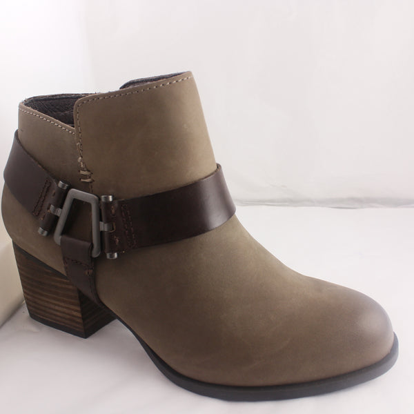 Womens Aldo Arielle Stone Brown Ankle Boots UK Size 5