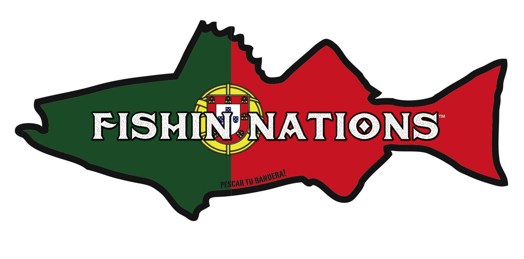 PORTUGAL FISHIN NATIONS STICKER