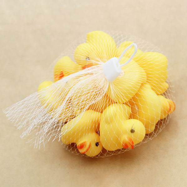 New 10pcs Squeezing Call Rubber Duck Ducky