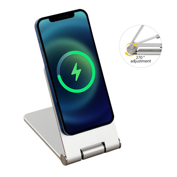 Magsafe Portable Charger Phone Stand Foldable Watching Drama Iphone 12