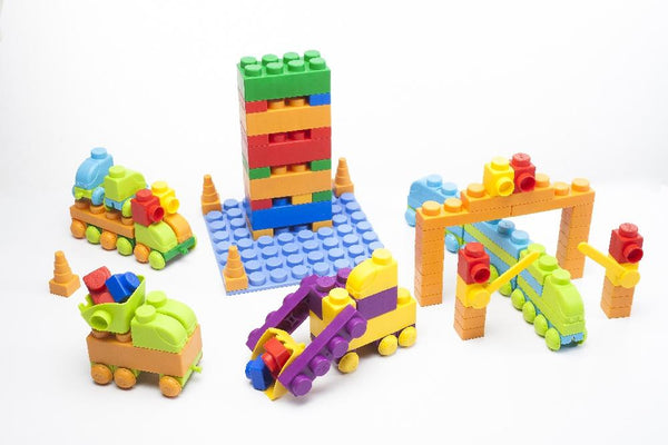 Uniplay Soft Building Blocks - Traffic Series