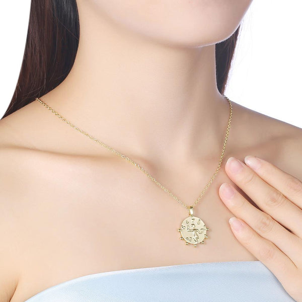 Dancing in the Rain Necklace in 18K Gold Plated