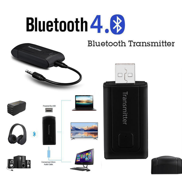 BT450 Mini Wireless Bluetooth Transmitter Stereo