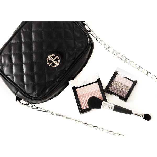 STUDIO GEAR COSMETICS FILLED SIGNATURE SHOULDER BAG