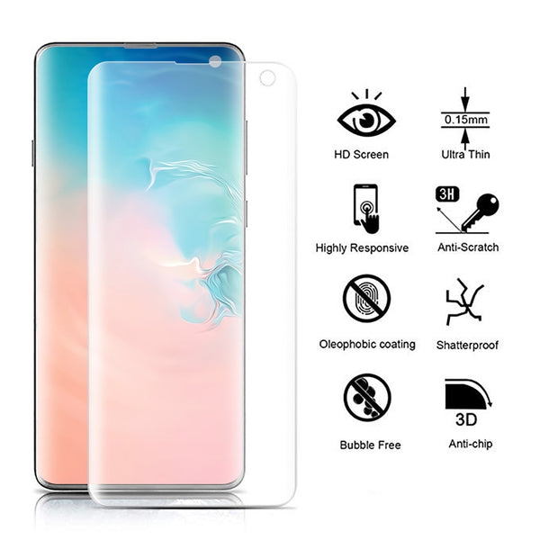 For Samsung S10 S10 Plus S10e Clear Soft Hydrogel