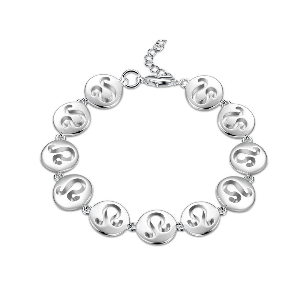Montlucon 18K White Gold Plated Bracelet