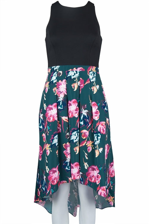 Aidan by Aidan Mattox Sleeveless Hi Low Dress
