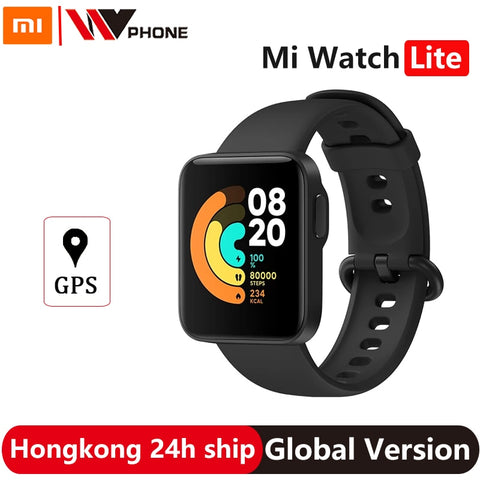 Watch Lite GPS Fitness Heart Rate Monitor Tracker 1.4inch Alarm Clock Redmi Smart Watch Wristband Global Version