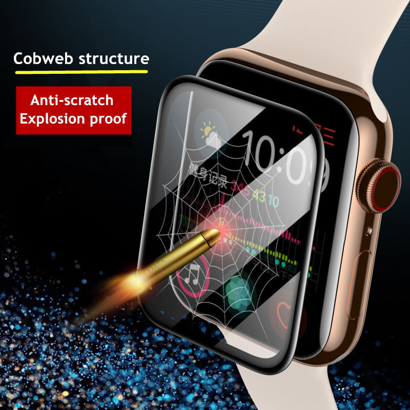 Screen Protector For Apple Watch band 44mm 40mm 42mm/38mm iwatch Soft Film watch accessories apple watch series 5 4 3 se 6